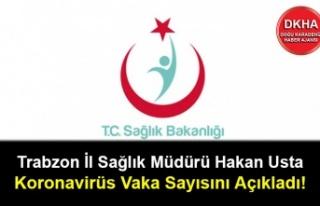 Trabzon İl Sağlık Müdürü Hakan Usta Koronavirüs...