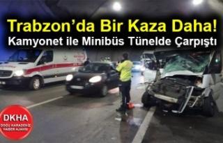 Trabzon'da Bir Kaza Daha! Kamyonet ile Minibüs...