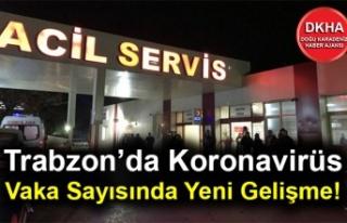 Trabzon'da Koronavirüs Vaka Sayısında Yeni Gelişme!