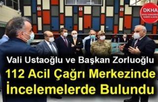 Vali İsmail Ustaoğlu ve Başkan Murat Zorluoğlu...