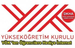 YÖK 'ten Öğrencilere Hediye İnternet. 6 GB...