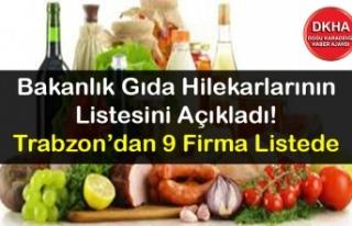 Bakanlık Gıda Hilekarlarının Listesini Açıkladı!...