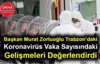 Başkan Murat Zorluoğlu Trabzon'daki Koronavirüs...