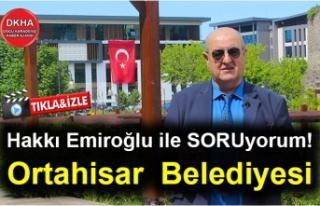 Ortahisar Belediyesi-Hakkı Emiroğlu ile SORUyorum!