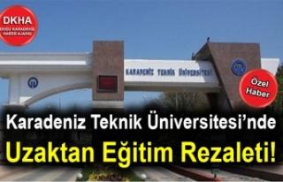 Karadeniz Teknik Üniversitesi'nde Uzaktan Eğitim...
