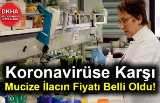 Koronavirüse Karşı Mucize İlacın Fiyatı Belli...