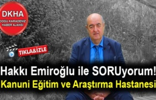Ölüleri Sahile Koydular Dirileri Dağ Başına -Trabzon...