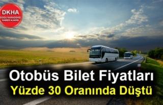Tavan Fiyat Uygulaması Sonrası Otobüs Bilet Fiyatları...
