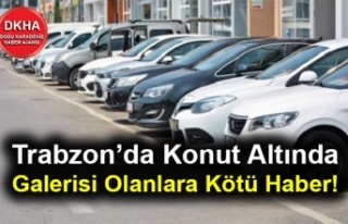 Trabzon'da Konut Altında Galerisi Olanlara Kötü...