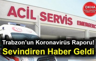 Trabzon'un Koronavirüs Raporu! Sevindiren Haber...