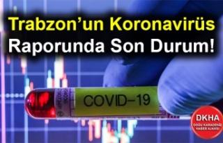 Trabzon'un Koronavirüs Raporunda Son Durum!