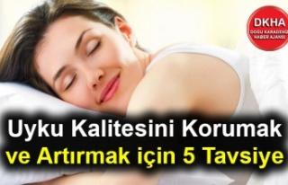 Uyku Kalitesini Korumak ve Artırmak için 5 Tavsiye