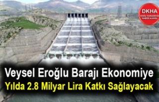 Veysel Eroğlu Barajı Ekonomiye Yılda 2.8 Milyar...
