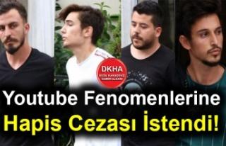 Youtube Fenomenlerine Hapis Cezası İstendi!
