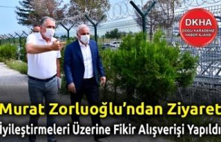 MuratZorluoğluÇoruhEdaş'ıZiyaret...