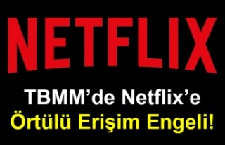 TBMM'de Netflix'e Örtülü Erişim Engeli!
