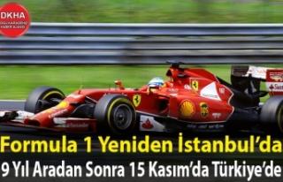 FORMULA 1 YENİDEN İSTANBUL'DA