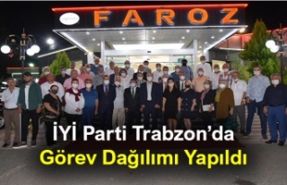 İYİ Parti Trabzon İl Başkanlığı Divan Kurulunda...