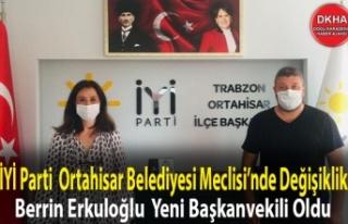 İYİ Parti Trabzon'da Ortahisar Belediyesi Meclisi'nde...