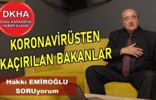 Koronavirüsten Kaçırılan Bakanlar-Trabzon Şehir...
