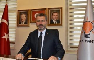 Ak Parti İl Başkanı Sezgin Mumcu 15 Şubat'ta...