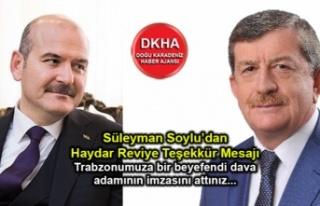 İçişleri Bakanı Süleyman Soylu'dan Ak Parti...