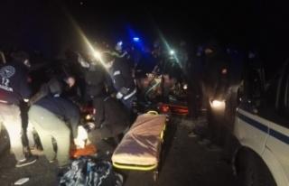 Trabzon Maçka'da Trafik Kazası 1 Ölü 5 Ağır...