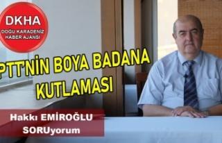 PTT'nin Boya Badana Kutlaması-DKHA