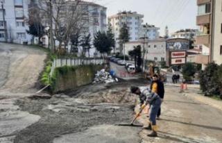 Trabzon Büyükşehir Belediyesi Yasak Günlerinde...