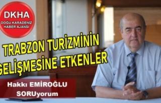 Trabzon Turizminin Gelişmesine Etkenler-DKHA