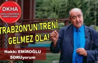 Trabzon'un Treni Gelmez Ola!-DKHA