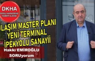 Trabzon Ulaşım Master Planı - Yeni Trabzon Terminali-DKHA