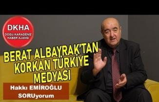 Berat Albayrak'tan Korkan Türkiye Medyası - Hakkı EMİROĞLU ile SORUyorum!