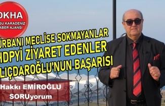 Türbanı Meclise Sokmayanlar- HDP'yi Ziyaret Edenler- Fikri Sağlar- Hakkı EMİROĞLU ile SORUyorum!