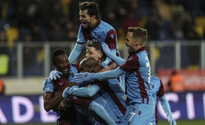 Trabzonspor'dan Bir Galibiyet Daha Geldi