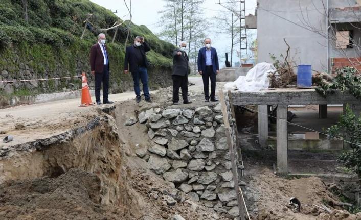 Baharın Gelişiyle Birlikte Rize Belediyesi Saha Çalışmalarına Hız Verdi