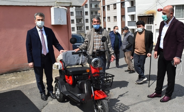 Başkan Mumcu Engelli Vatandaşın Hayalini Gerçekleştirdi